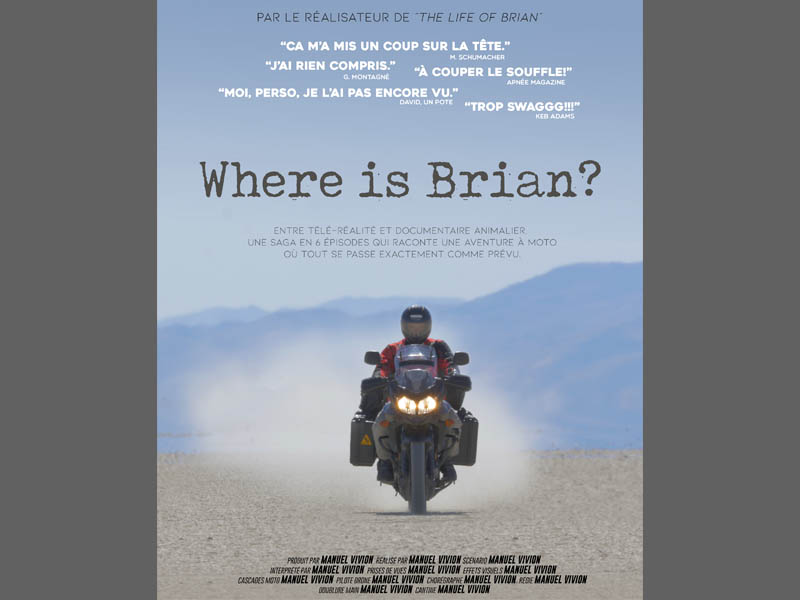 Where is Brian movie poster